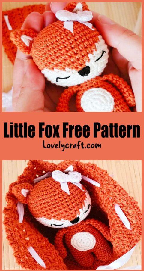 Little Lovely Fox Amigurumi Free Crochet Pattern