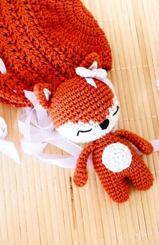 Little Fox Amigurumi Free Pattern (6)