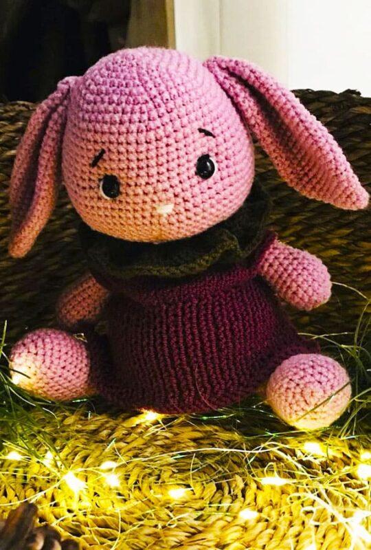 Ponchino Little Bunny Free Crochet Pattern (2)