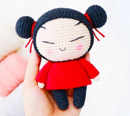Pucca Girl doll free