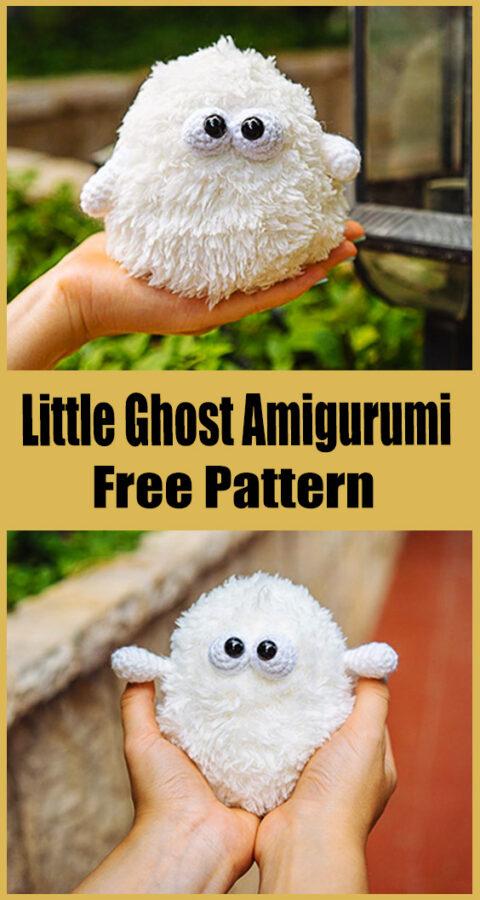 Little Ghost Amigurumi Crochet Pattern