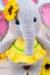 elephant, flower, body