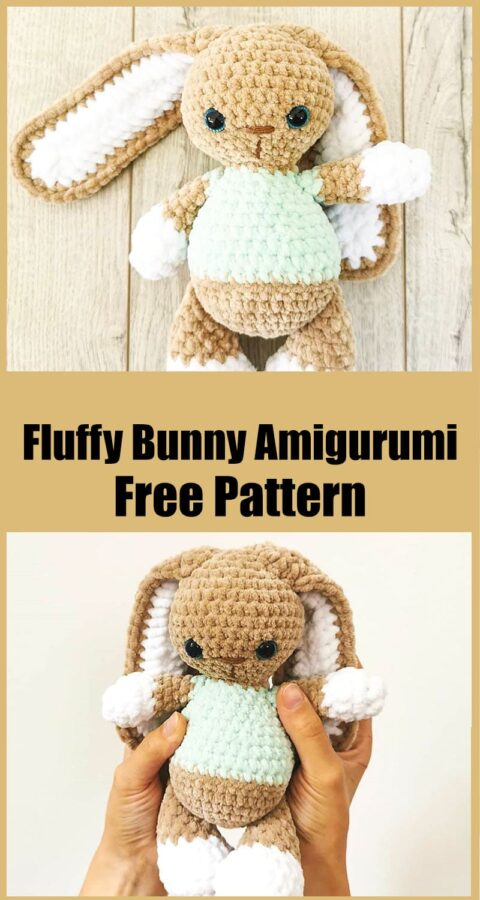Fluffy Bunny Amigurumi Free Crochet Pattern