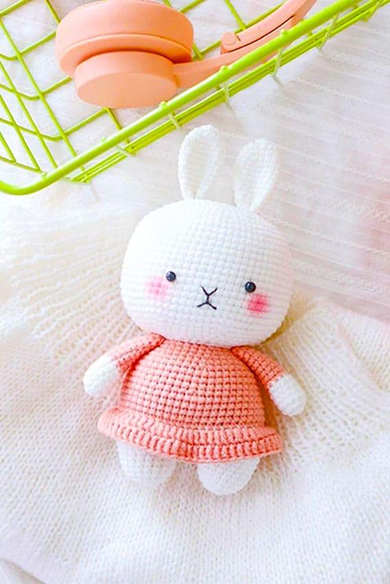 Little bunny amigurumi, Little bunny amigurumi free crochet Pattern