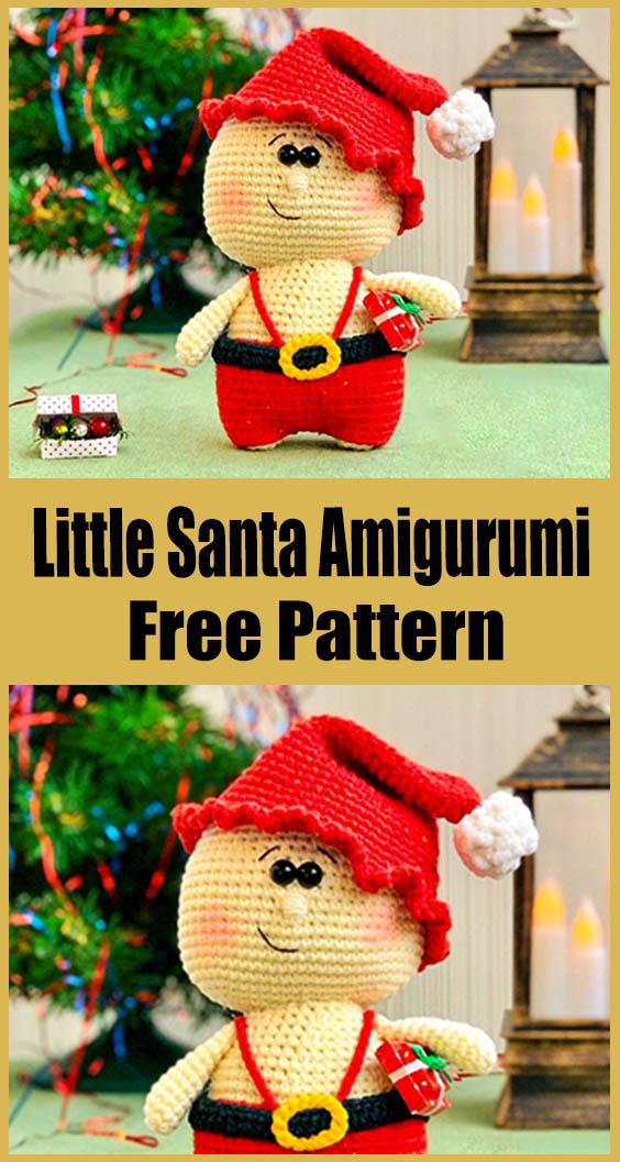 Little Santa Amigurumi