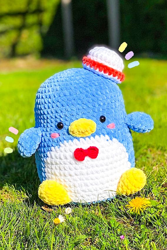 tuxedo- sam- free- crochet- pattern