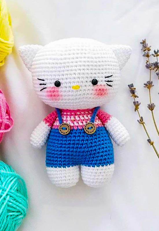 Hello kitty amigurumi pattern, hello kitty amigurumi toy free pattern