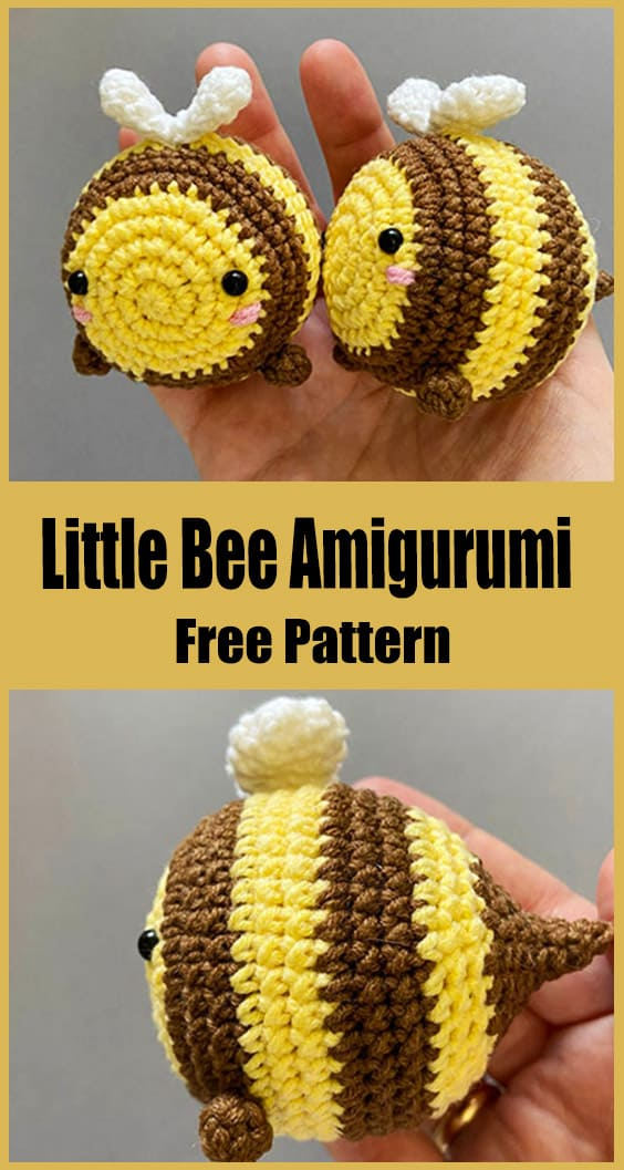 Little Bee Amigurumi Crochet Pattern