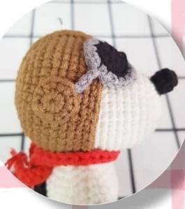 Snoopy Amigurumi Free Crochet Pattern