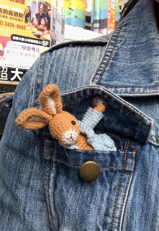 Pocket Bunny Amigurumi Free Crochet Pattern (2)