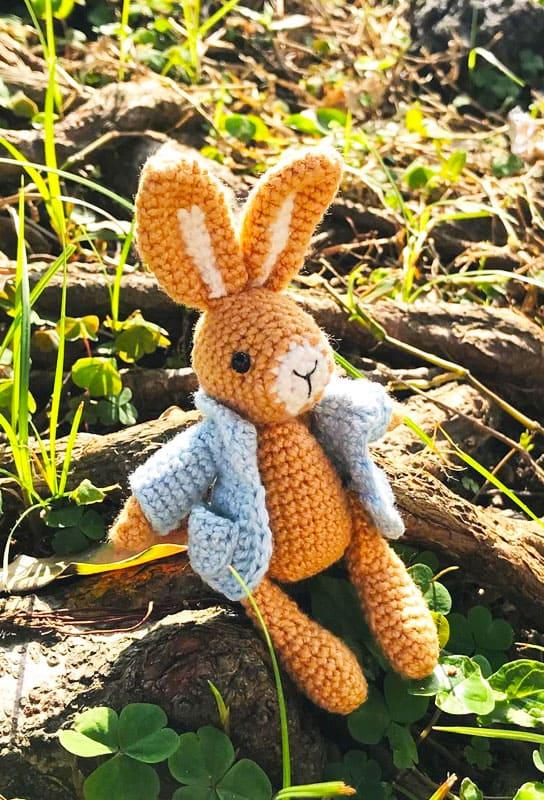Pocket Bunny Amigurumi Free Crochet Pattern (4)
