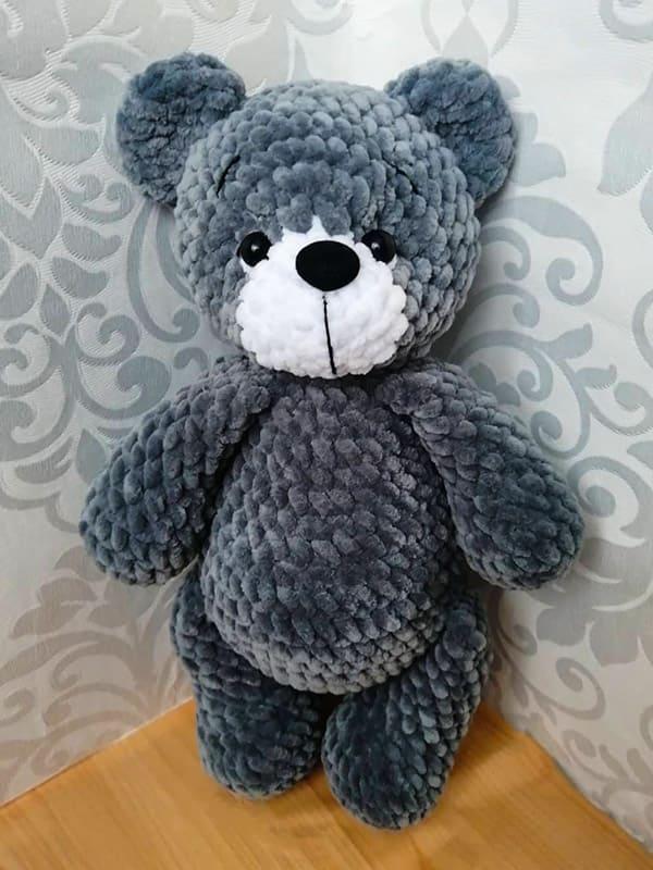 The Bear Mishka Amigurumi Crochet Pattern