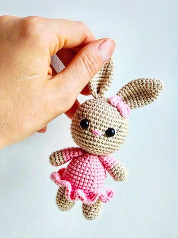 Little Bunny Amigurumi Crochet Pattern