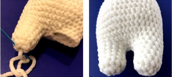 plush bunny amigurumi pattern
