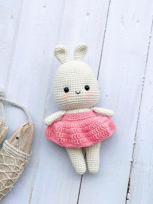 bunny amigurumi free pattern, amigurumi bunny pattern, little bunny pattern