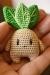 harry potter amigurumi free pattern, mandrake amigurumi pattern, harry potter mandrake