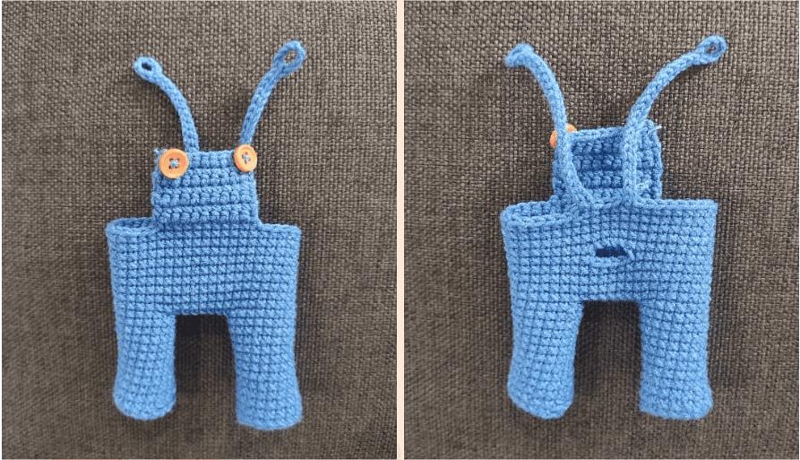 plush tiger amigurumi pattern, plush tiger amigurumi crochet free pattern