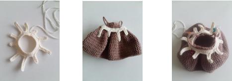 Strawberry Fairy Muig Amigurumi Crochet Pattern Cream