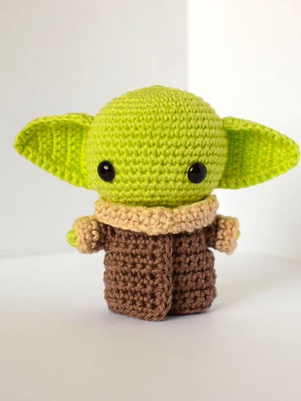 Star Wars Baby Yoda Amigurumi Crochet Pattern