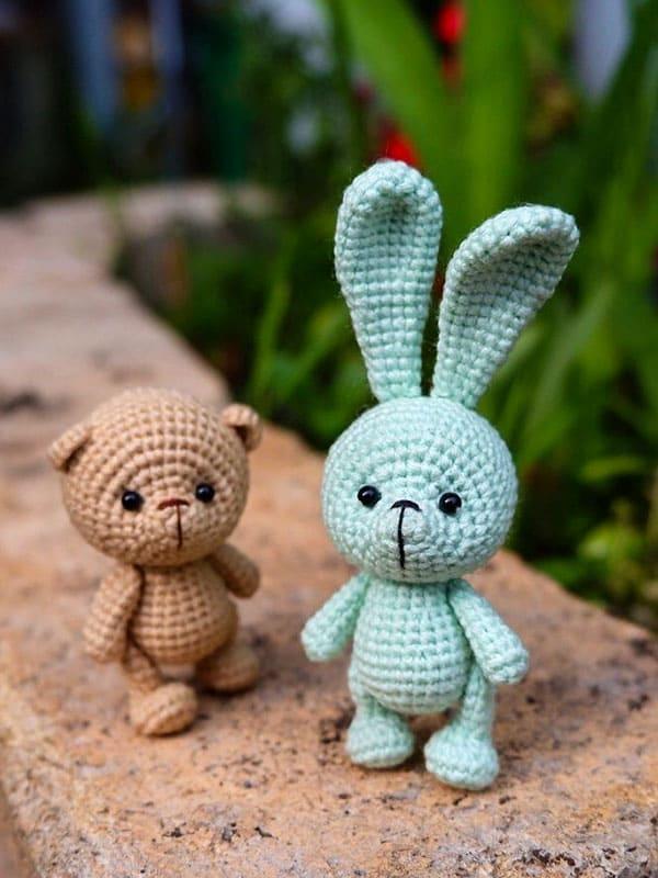 cute, keychain, bunny, friends, cat,