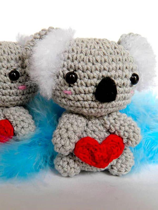 koala, keychain, love, loves, suprise,