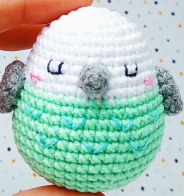 Little Bird Amigurumi Crochet Pattern