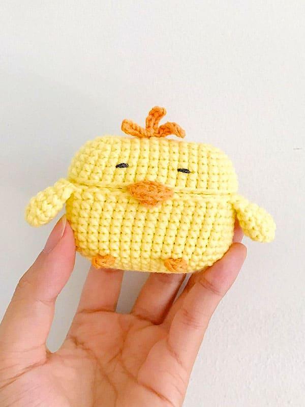 Chicken Case Amigurumi Crochet Pattern