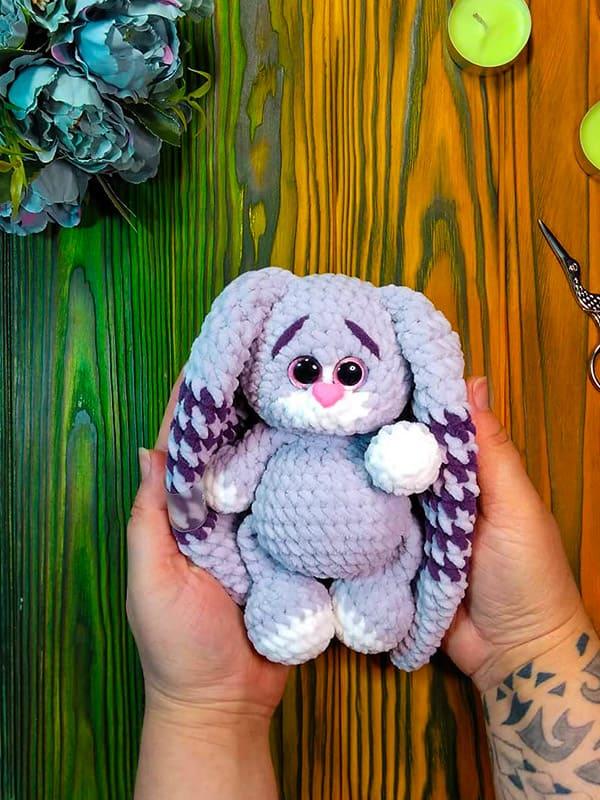 Mini Bunnies Neon Amigurumi Crochet Pattern