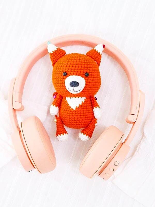 crochet fox pattern, little fox amigurumi free pattern
