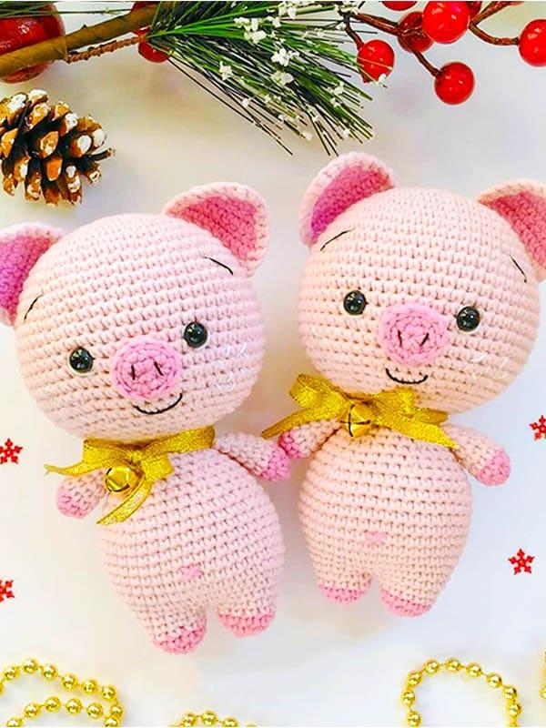 sweet pig amigurumi free pattern, pig amigurumi pattern, pig amigurumi