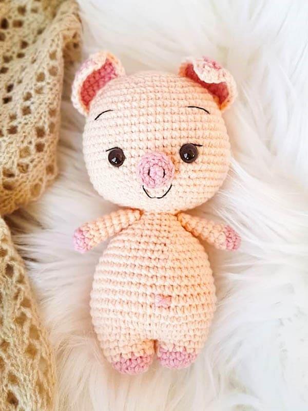 sweet pig amigurumi free pattern, pig amigurumi pattern, pig amigurumi crochet pattern free