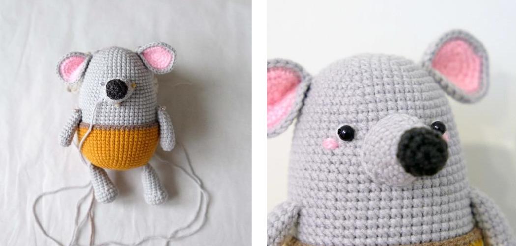 Little Mouse Li Amigurumi Crochet Pattern
