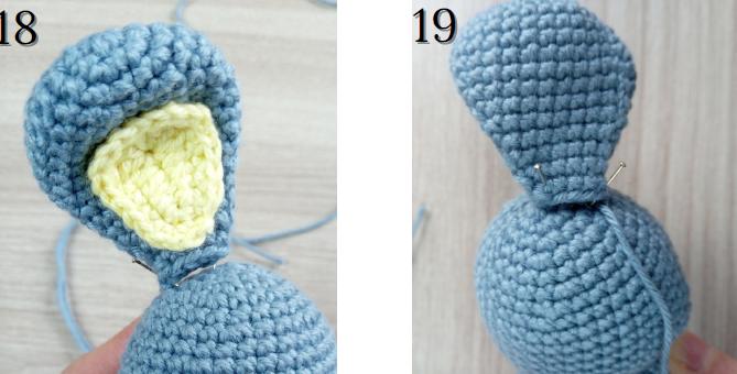 Roger The Easter Rabbit Amigurumi Crochet Pattern