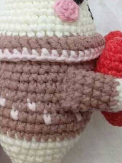 Mini Bunny With A Heart Amigurumi Crochet Pattern