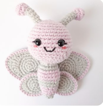Ellie The Butterfly Amigurumi Crochet Pattern