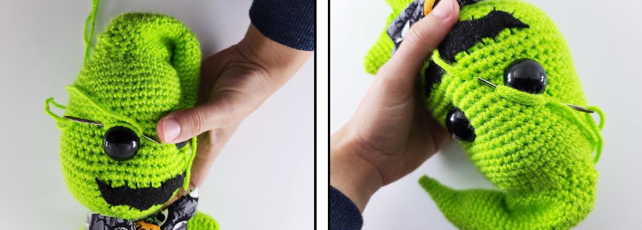 Oogie Boogie Amigurumi Crochet Pattern