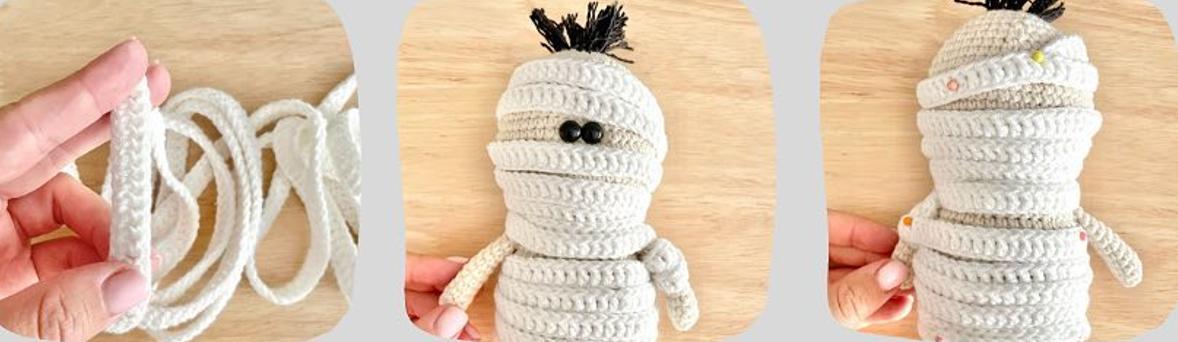 Little Mummy Amigurumi Crochet Pattern