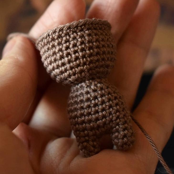 Baby Groot Amigurumi Crochet Pattern