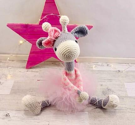 Ballerina Giraffe Amigurumi Crochet Pattern