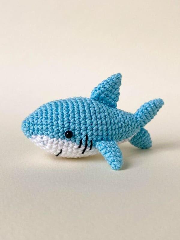 cute, baby, shark, amigurumi, gift, sea, beach, summer, fish, body