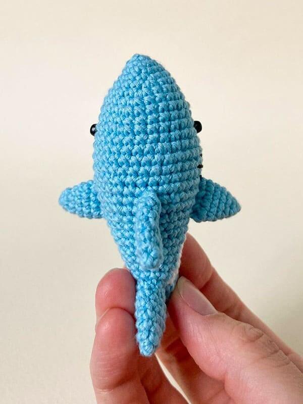 cute, baby, shark, amigurumi, gift, sea, beach, summer, fish, fin, tail,