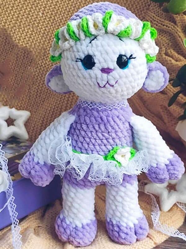Cute Sheep Amigurumi Crochet Pattern