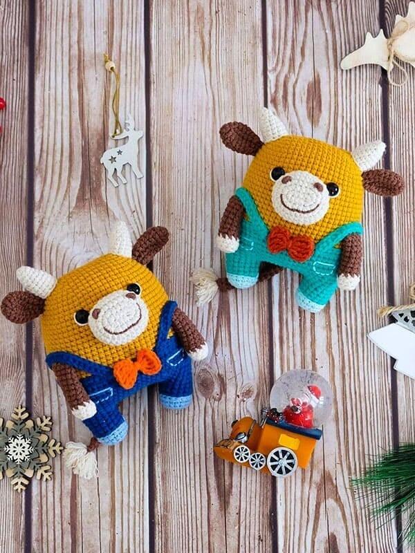 Fofo The Bull Amigurumi Crochet Pattern