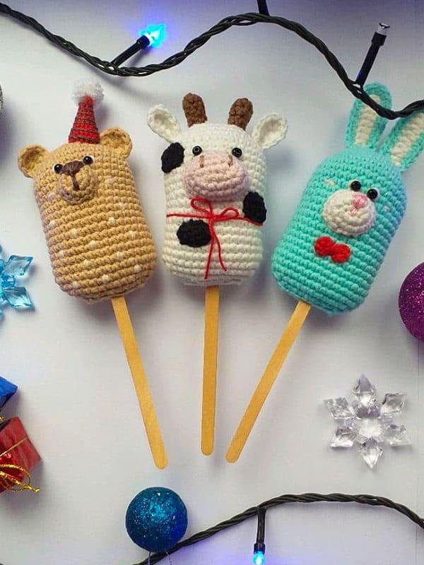 funny, icecream, bunny, bear, cow, body