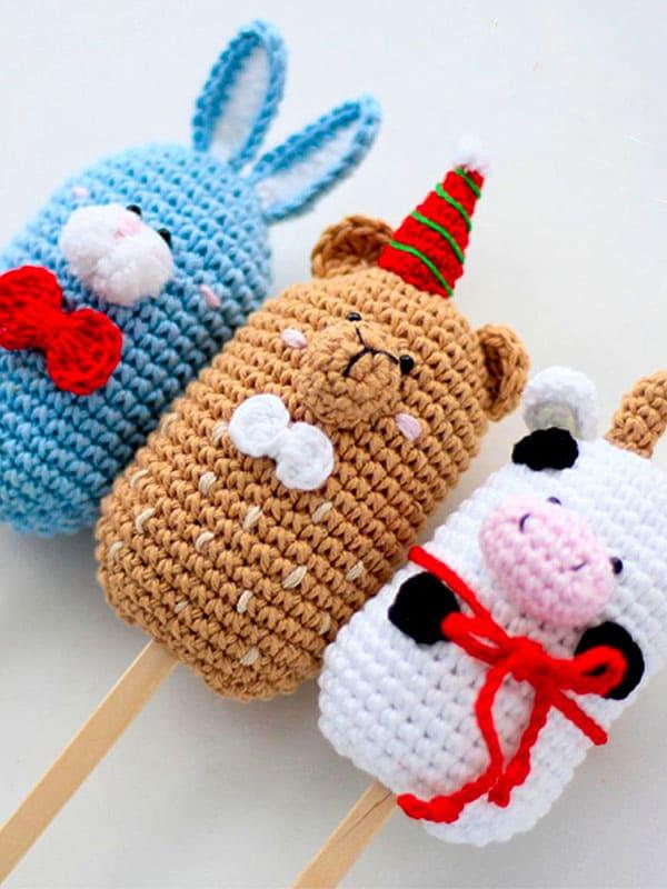 funny, icecream, bunny, bear, cow,