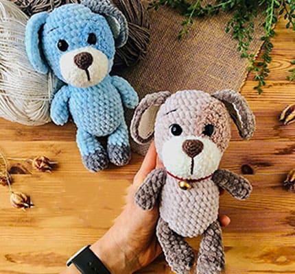 Rex The Dog Amigurumi Crochet Pattern