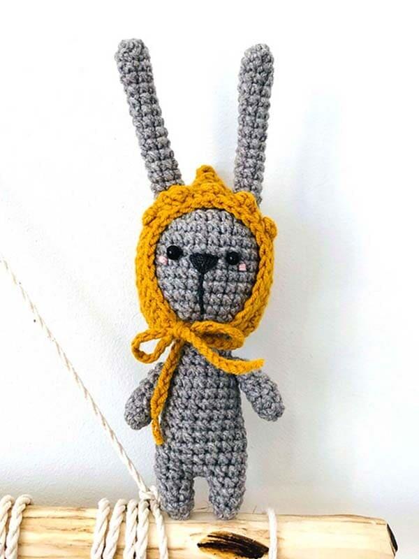 teeny, weeny, bunny, amigurumi, crochet, pattern, cute, gift, body