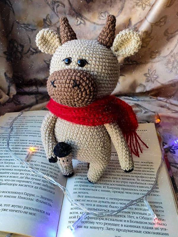 Willy The Bull Amigurumi Crochet Pattern