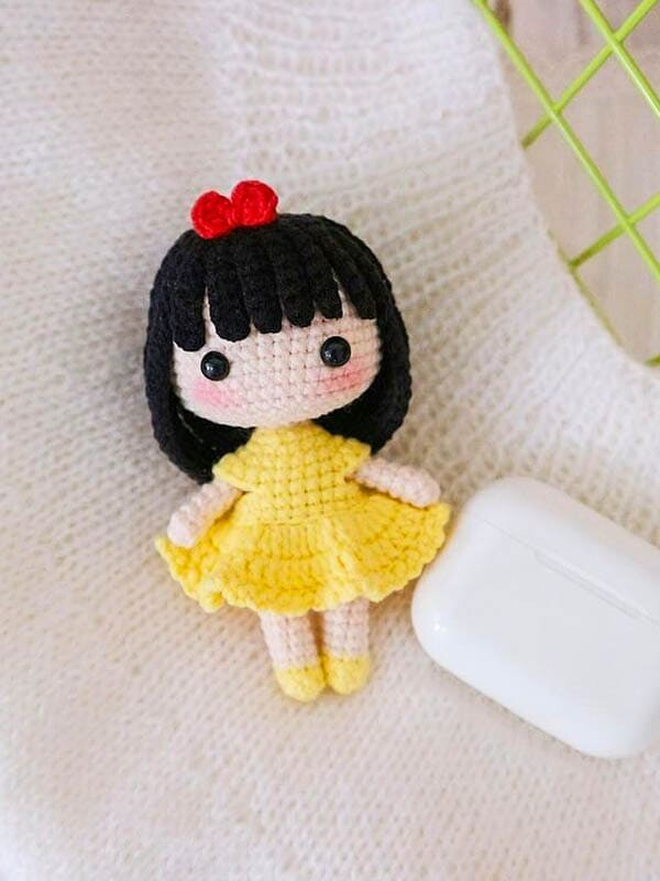 crochet doll amigurumi free pattern, amigurumi doll pattern