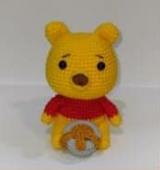 Winnie The Pooh Amigurumi Patrón Gratis